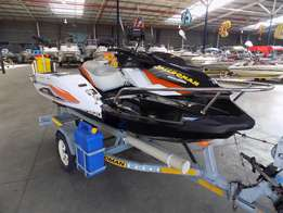 sea doo gti 130 ibr on trailer 87 hours
