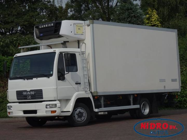 MAN L90F CARRIER MULTITEMP KOEL/VRIES + LAADKLEP - 2002
