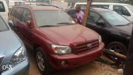 2005 Seven passengers Toyota Highlander for Sales