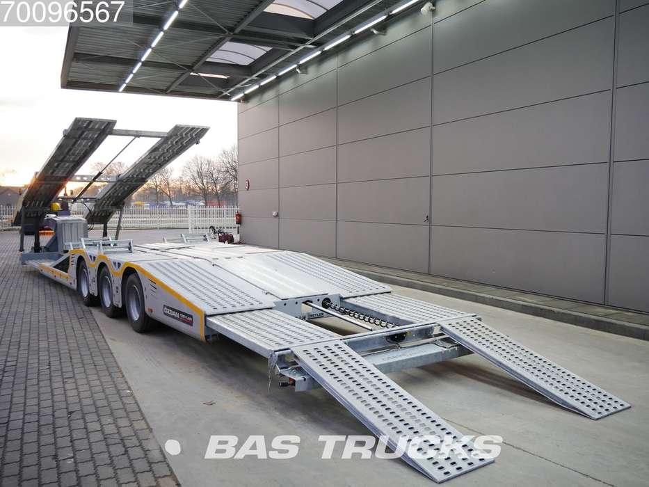 Ozsan Truck Transporter SAF WABCO Ausziehbar BYRM 3 Lifta... - 2019