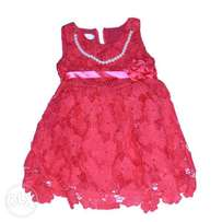 Lace dress for little girls