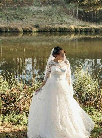c07f7f2eb7fb5e Весільна сукня. Продам дуже гарну весільну сукню Луцьк - зображення 1