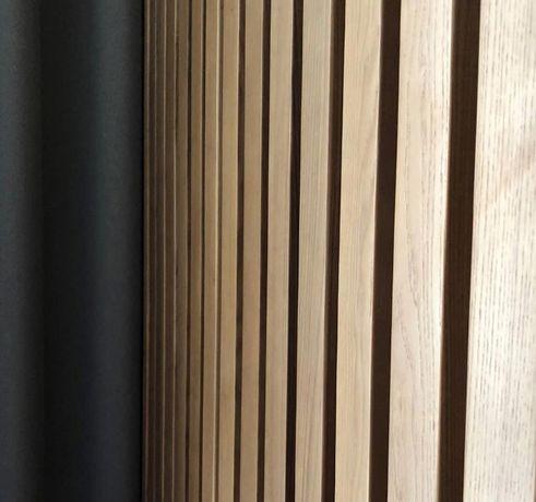 Luksusowe Panele Pionowe Drewniane 3d Listwy Na ścianę