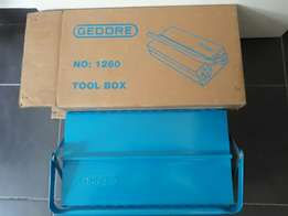 Gedore steel tool box