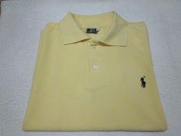 8d1c1b0e53d3ed Ralph Lauren Polo T-Shirt męski roz. S kolor żółty