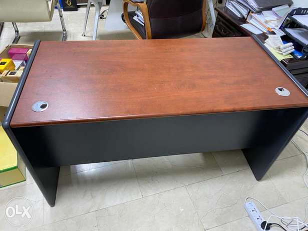 Wooden office table for sale!