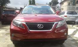 Extra Clean foreign used Red 2011 model Lexus RX 350
