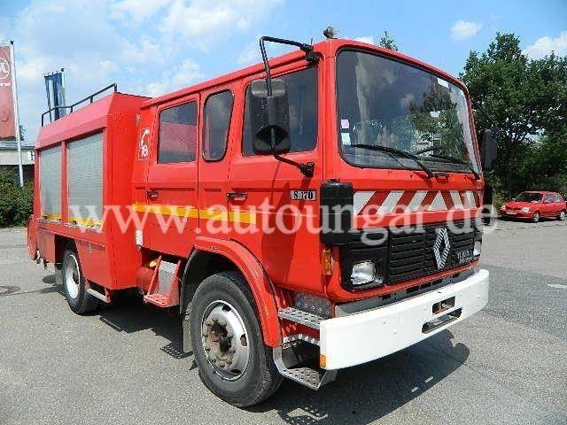 Renault S 170 TLF 300 Feuerwehr 9 Sitzer AHK - 1990