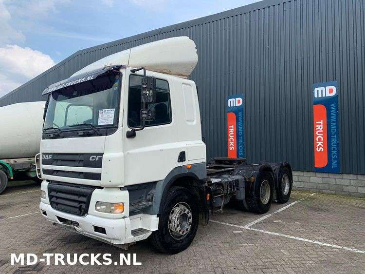 DAF CF 85 430 manual 6x4 full steel - 2007