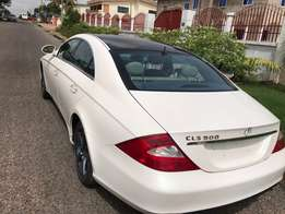 Powerful Unregistered BenZ CLS 500