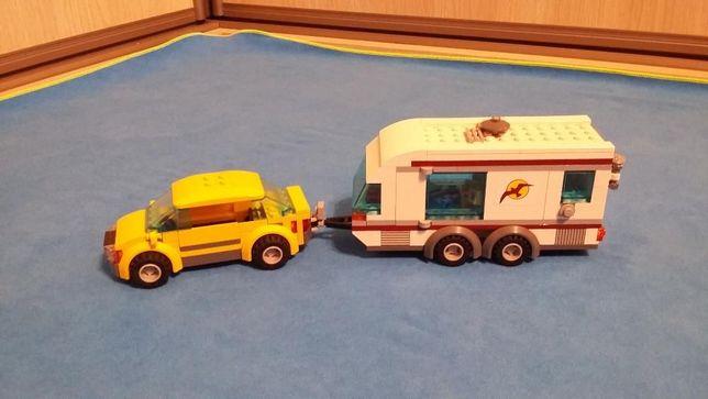 Miasteczko Lego Friends Samochód Z Przyczepą Kempingową Lego 4435
