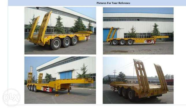 3 Axle Low Bed Trailer, 50 TON Mlolongo - image 1