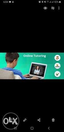 Maths Online Tutor