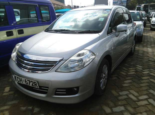 Silver Tiida ax15 ,2009 Model,1500cc,Alloy Wheel,Semi-leather Seats, Nairobi CBD - image 2