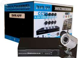 Unbelievable Special Price!! Complete 8 Channel D.I.Y CCTV Camera Kit!