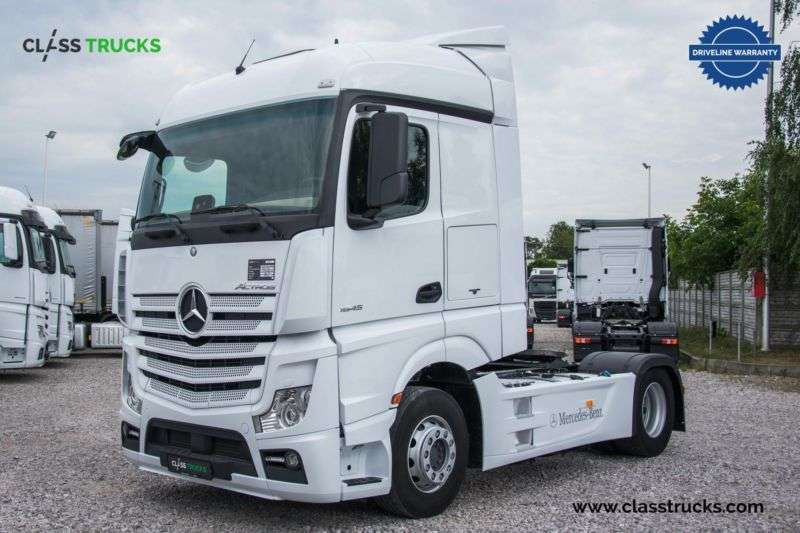 Mercedes-Benz Actros 1845 Ls 4x2 Streamspace, Side Skirts - 2017