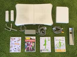 Wii, plus Wii Fit and four games