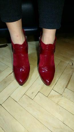 25 см Шкіряні італійські червоні чобітки Icon красные кожаные ботинки Львов  - изображение 2 46c9ef7086b03