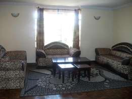fully furnished 3 bedroom to let at Westlands school lane.
