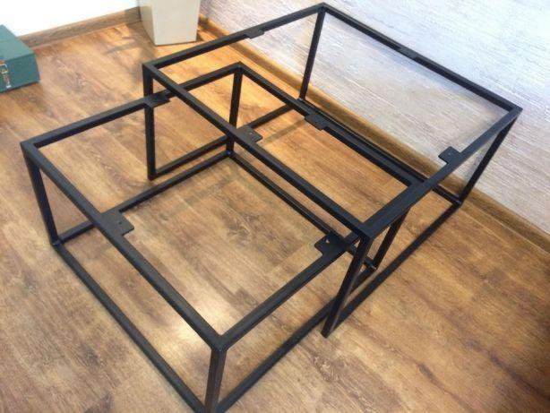 Metalowy Stelaż Metalowy Stolikstolik Kawowy Loft
