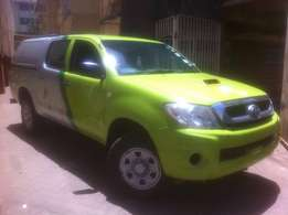 09 Model Toyota Hilux D/Cab 4WD, 2.5L Diesel, Manual.