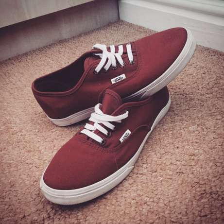 Maroon Colored Vans Port Elizabeth - image 1