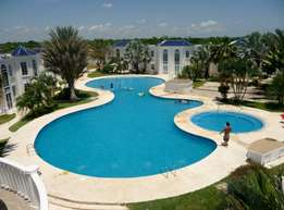 Maintenance and service of swimming pools