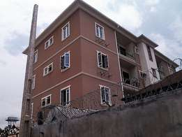 Newly built 3 bedroom all room ensuit at Yaba Lagos
