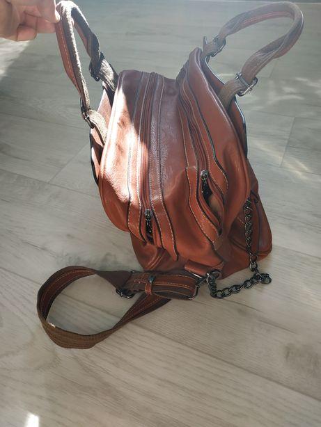 35e7cc488dee Продам сумку кожаную: 500 грн. - Сумки Возрождения на Olx