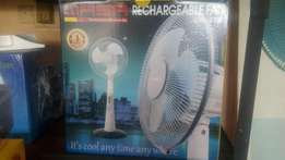 Qasa rechargeable fan