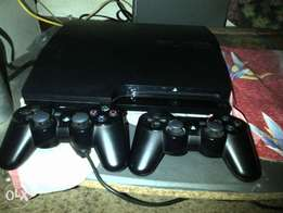 Playstation 3 X 2 controllers and 9 games