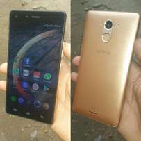 Infinix hot4 with fingerprint
