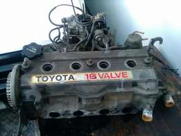 16 valve complete motor for sale selling as parts