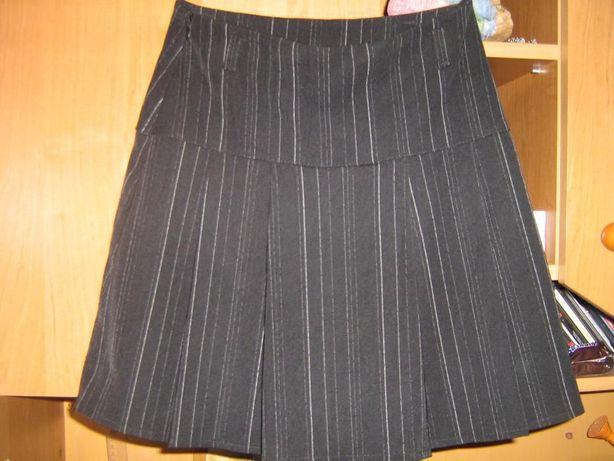 cf9909da96 NOWA spódnica wizytowa elegancka galowa czarna rozm. 146 Łuków - image 1