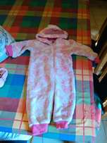 Toddler winter onesie