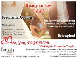 "Ready to say ""I DO"" ? - Pre-marital Couples Workshop"