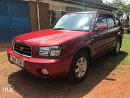 Subaru Forester X20 Low milage Exceptional condition