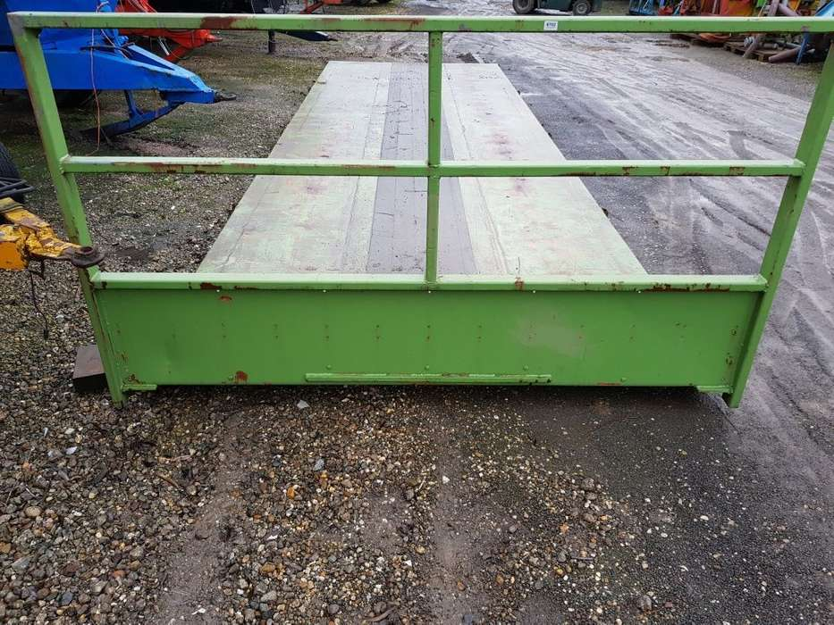 Container Flat Dropside Body