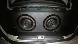 2x 12 inch pioneer subs