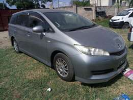 Toyota Wish 2010 model KCN number Loaded with alloy rims , navigati