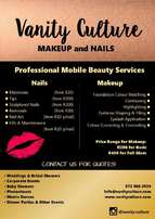 Professional Mobile Beauty Services - Vanity Culture
