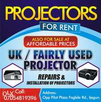 projectors! sales and installation