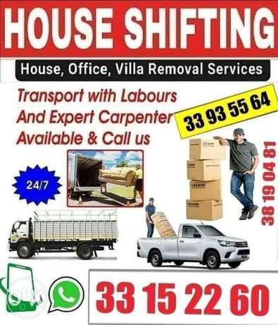 house shifting and transportation all over in bahrain