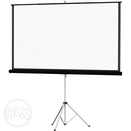 "Tripod/Portable Projector Screen for Sale 60"" by 60"" Nairobi CBD - image 2"