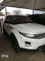Sharp Registered 2012 Range Rover Evoque