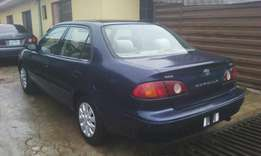Toyota corola 2002 model Tokunbo 4 sale