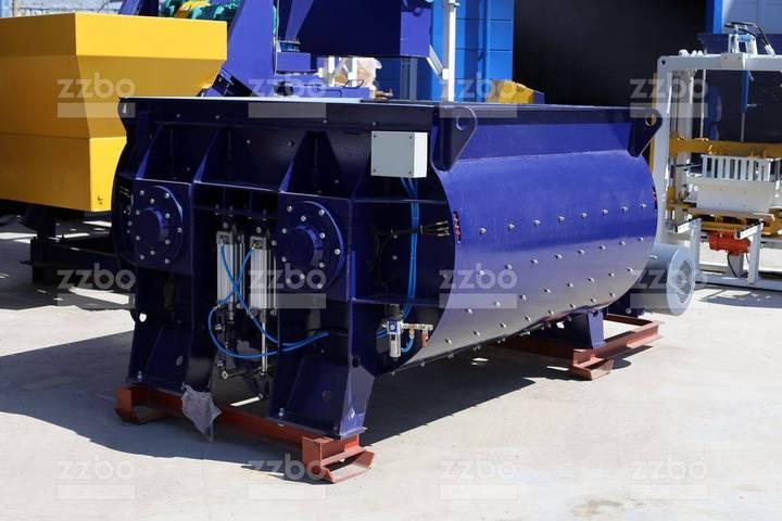 ZZBO Twin-shaft Concrete Mixer Bp-2g-2250 / Смеситель - 2019