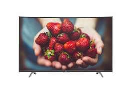 """TCL smart curved 48"""" TV"""