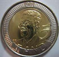 Mandela 2008 - R5 Uncirculated. R50 each or R1000 for all 30!