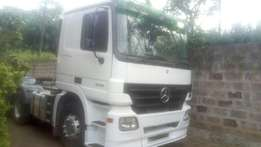 Mercedes actros with genuine mileage